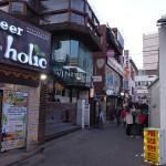 弘大(ホンデ)の路地